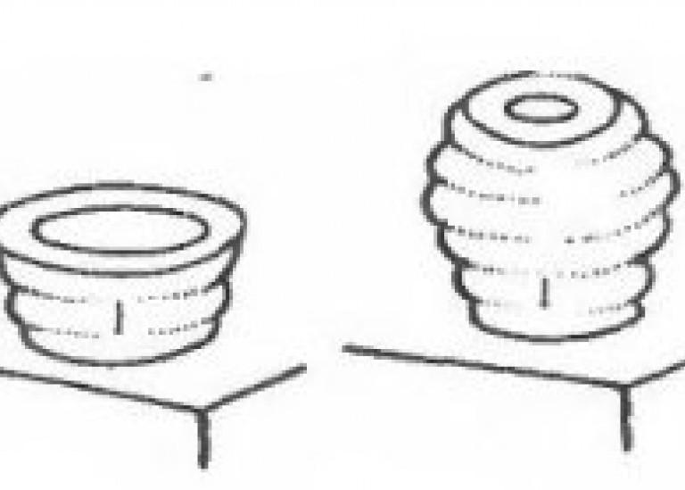 Наращивание стенки горшка