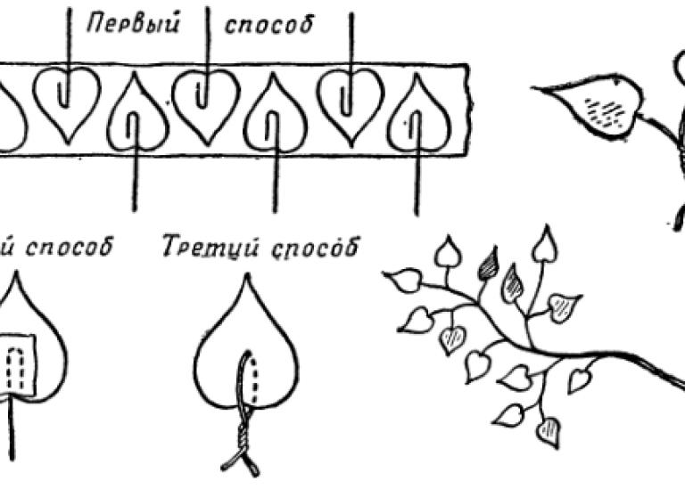 Работы из ткани