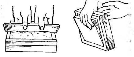 формование плиток