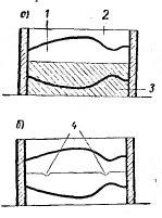 Получение первого и второго кусков формы с замком
