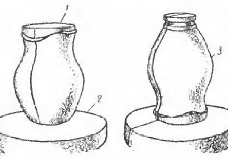 Примеры снятия форм на станке
